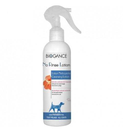 لوسیون تمیز کننده پوست و موی سگ بدون نیاز به آب - BIOGANCE No Rinse Lotion Dog
