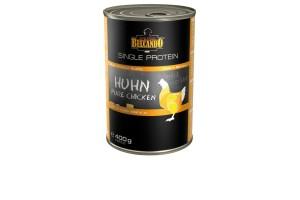 کنسرو تک پروتئینه مخصوص سگ/ 100% مرغ/ 400 گرم