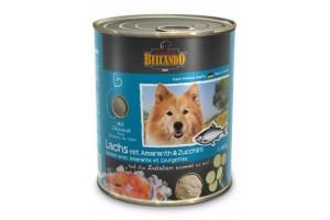 کنسرو ماهی سالمون + آمارانس و کدو  بلکاندو مخصوص سگ بالغ/ 800 گرمی