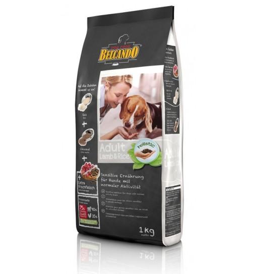 غذای خشک سگ بلکاندو با طعم بره و برنج/ 1 کیلویی/ Belcando ADULT LAMB & RICE