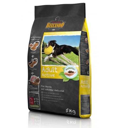 غذای خشک سگ بلکاندو مخصوص سگ های فعال/ 5 کیلویی/ Belcando ADULT ACTIVE