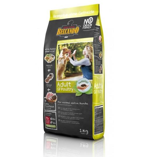 غذای خشک سگ بلکاندو - بدون غلات/ 1 کیلویی/ Belcando  ADULT  GRAIN-FREE  POULTRY