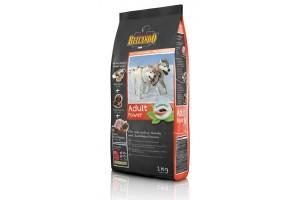 غذای خشک مخصوص سگ های با فعالیت بسیار بالا و سگ مادر/ 1 کیلویی/ Belcando ADULT POWER