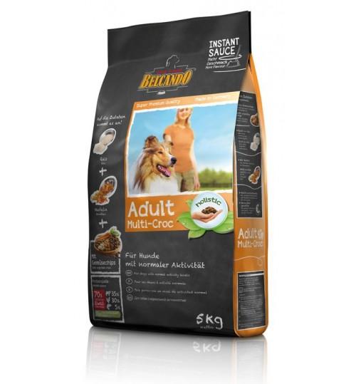 غذای خشک  مخلوط سگ بلکاندو/ 5 کیلویی/ Belcando ADULT MULTI-CROC