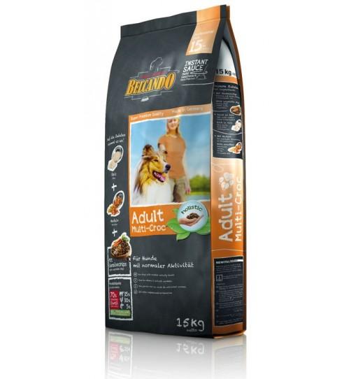 غذای خشک  مخلوط سگ بلکاندو/  15 کیلویی/ Belcando ADULT MULTI-CROC