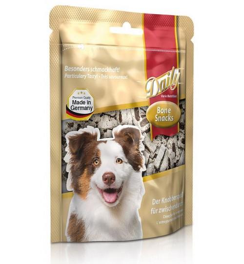 تشویقی روزانه سگ- تکه های نرم به شکل استخوان/ 120 گرمی