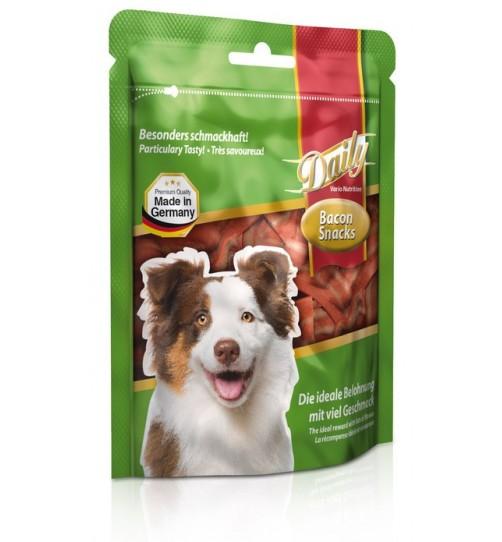 تشویقی روزانه سگ با گوشت بیکن/ 120 گرمی/ BELCANDO Bacon Snacks