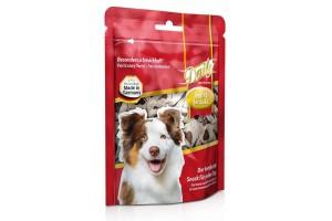 تشویقی روزانه سگ- تکه های نرم به شکل قلب/ 120 گرمی