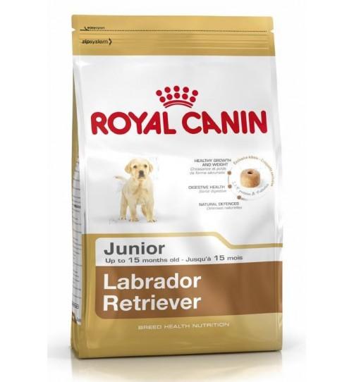 غذای خشک رویال کنین مخصوص توله سگ و سگ جوان نژاد لابرادور 2 تا 15 ماه/ 12 کیلویی/  Royal Canin Labrador Retriever Junior