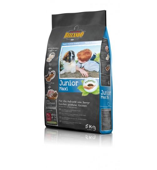 غذای خشک توله سگ نژاد بزرگ (بالای 4 ماه) بلکاندو/ 5 کیلویی/ Belcando JUNIOR MAXI
