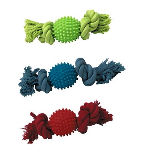اسباب بازی توپ و طناب مخصوص سگ