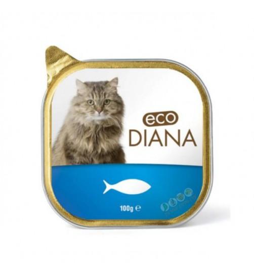 کنسرو گربه DIANA با گوشت ماهی