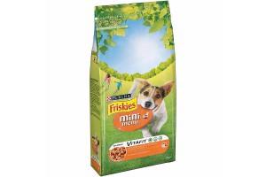 غذای خشک سگ بالغ نژاد کوچک فریسکیز  mini menu با گوشت مرغ و سبزیجات