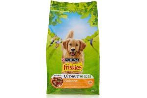 غذای خشک سگ فریسکیز  Balance  با گوشت مرغ و سبزیجات - 3 کیلویی