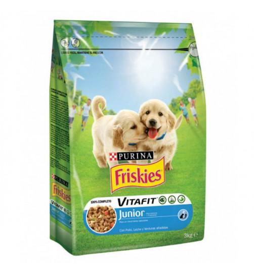 غذای خشک فریسکیز  Junior مخصوص توله سگ - 3 کیلویی
