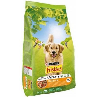 غذای خشک سگ فریسکیز  Balance  با گوشت مرغ و سبزیجات - 15 کیلویی