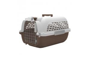 باکس حمل DO Voyageur, Medium  مخصوص سگ و گربه/ قهوه ای, سفید