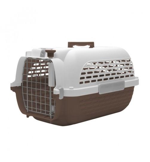 باکس حمل DO Voyageur, Small  مخصوص سگ و گربه/ قهوه ای, سفید