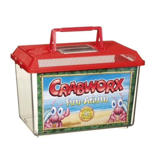 باکس حمل حیوانات کوچک/ Crabworx Fun-Arium