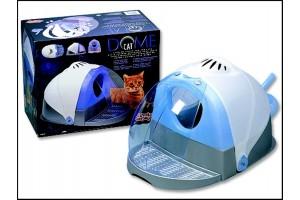 باکس توالت مسقف گربه با سقف تاشو/ CAT DOME