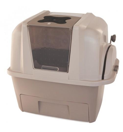 توالت نیمه اتوماتیک (مکانیزه)  گربه SmartSift با فیلتر کربن