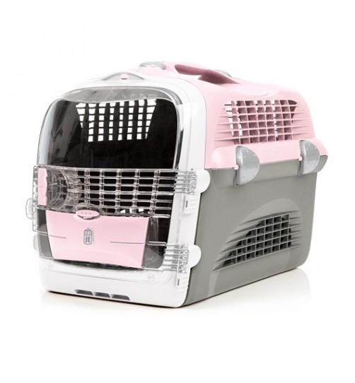 باکس حمل Cabrio مخصوص سگ های کوچک و گربه/ صورتی