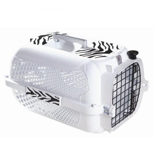 باکس حمل   White Tiger, Small مخصوص سگ و گربه/ سفید