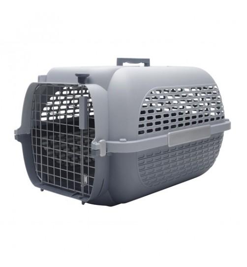 باکس حمل CA Voyageur Medium مخصوص سگ های کوچک و گربه/ طوسی