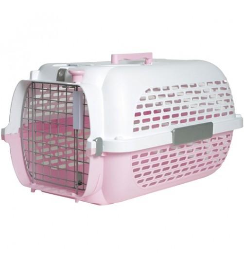 باکس حمل CA Voyageur Medium مخصوص سگ های کوچک و گربه/ صورتی