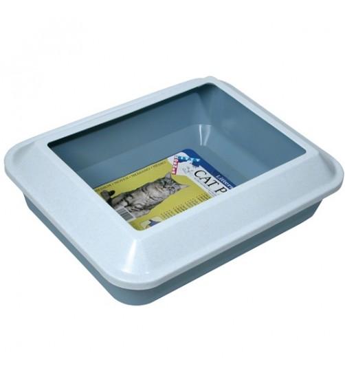 ظرف خاک گربه  سایز بزرگ/ Littershield Pan Set