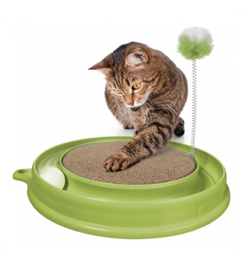 اسباب بازی و اسکرچ گربه Catit Play 'n Scratch / در چند رنگ