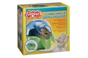 حمام شن جوندگان، همستر  و چین چیلا/  Chinchilla Bath House