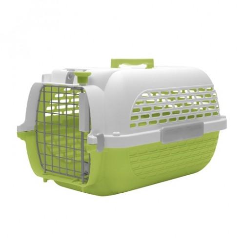 باکس حمل DO Voyageur, Small  مخصوص سگ و گربه/ سبز, سفید