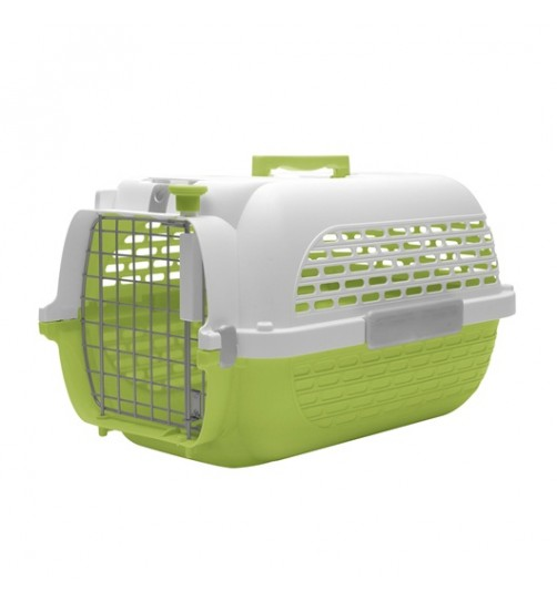 باکس حمل DO Voyageur, Medium  مخصوص سگ و گربه/ سبز, سفید