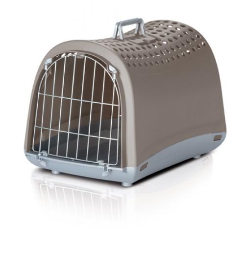 باکس حمل و نقل Linus  مخصوص سگ و گربه و حیوانات  کوچک/ خاکی