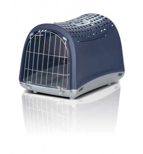 باکس حمل و نقل Linus Cabrio  درب از بالا  مخصوص سگ, گربه  و حیوانات کوچک/  آبی تیره