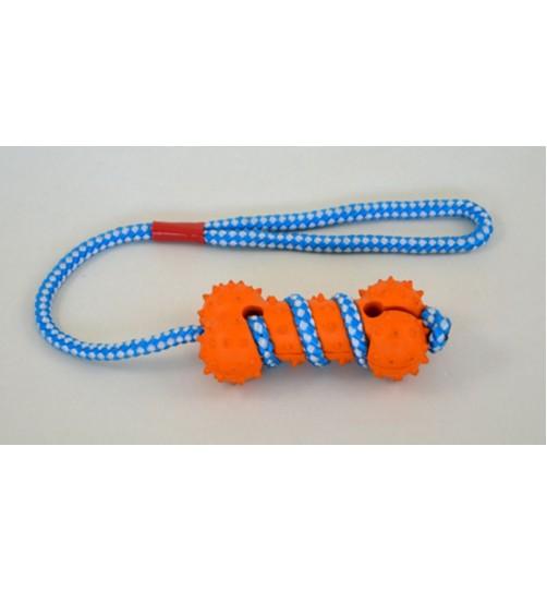استخوان اسباب بازی سگ با طناب