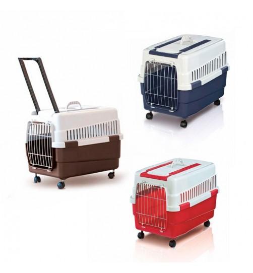 باكس حمل چرخ دار KIM 60  مخصوص سگ و گربه