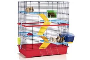 قفس خرگوش و خوکچه هندی مدل Double 100/ سایز 100