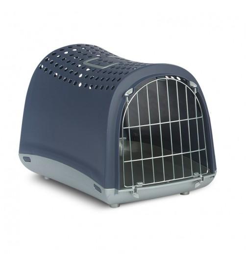باکس حمل سگ, گربه و حیوانات  خانگی کوچک مدل Linus / آبی تیره