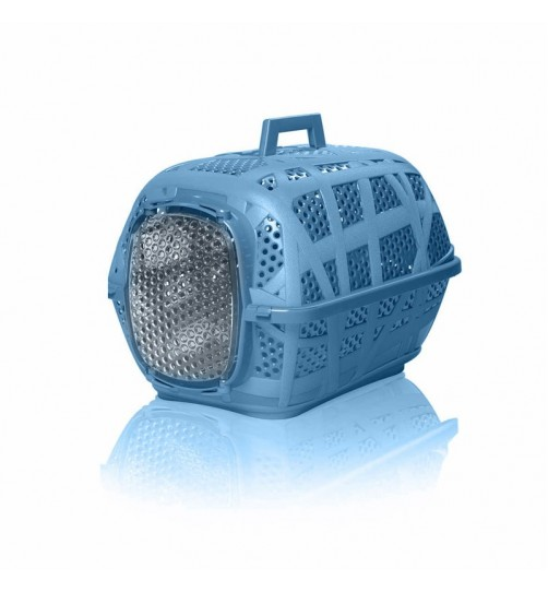باکس حمل و نقل Carry Sport  مخصوص سگ, گربه  و حیوانات کوچک/  آبی