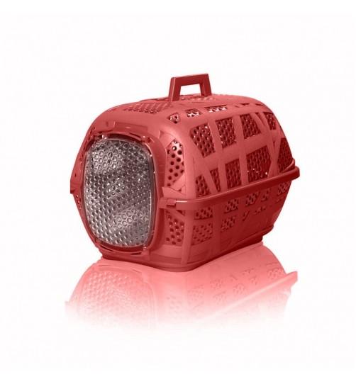 باکس حمل و نقل Carry Sport  مخصوص سگ, گربه  و حیوانات کوچک/  قرمز