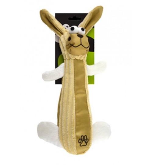 عروسک اسباب بازی سگ/ خرگوش پارچه ای/ 30 سانتی