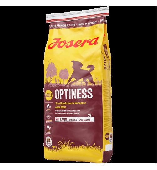 غذای خشک جوسرا Optiness  مخصوص سگ های متوسط و بزرگ - 15 کیلویی