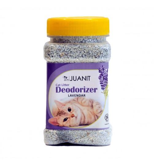 بوگیر و آنتی باکتریال  خاک گربه ژوانیت - لوندر