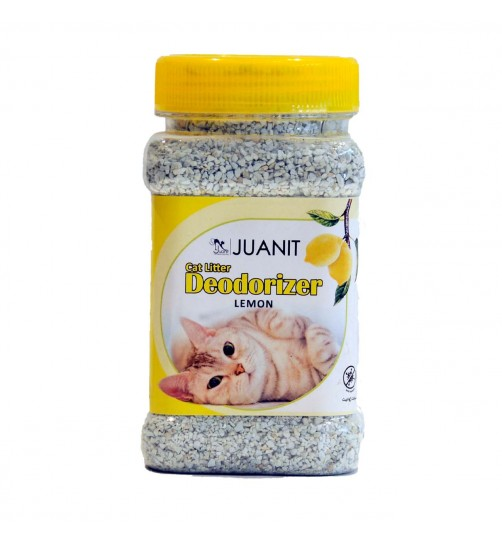 بوگیر و آنتی باکتریال  خاک گربه ژوانیت - لیمو