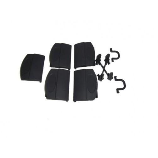 دستگیره، اتصالات و قطعات جانبی باکس های گالیور سایز 1 تا 3