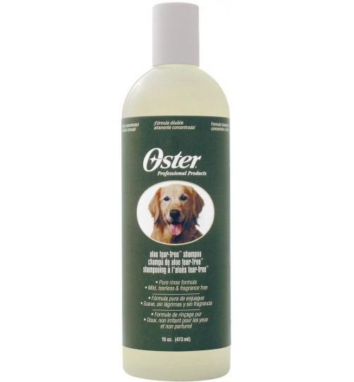 شامپوآلوورا  مخصوص سگ و توله سگ با پوست حساس/ 473 میلی لیتر/ Oster Tear Free Aloe Vera Shampoo for Dog