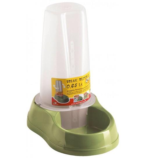 ظرف مخزن دار آب و غذا مخصوص سگ و گربه