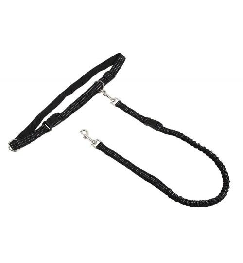 بند قلاده و کمربند مخصوص پیاده روی و دویدن با سگ/ Running Leash Active